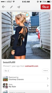 dress,blue long sleeved gold glitter back,long sleeved black dress with gold  sequin,this is a black matte dress with an open back and has sparky sripes running down the back,with a sparky collar,clothes from pinterest,navy,party dress,open back,short dress