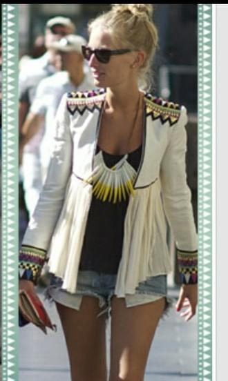 jacket aztec veste