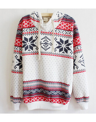 sweater polka dots shirt sweet pattern winter outfits fall outfits snow polka warm fleece trend trendy trends sweater/sweatshirt sweater weather sweat the style christmas sweater wow gift ideas snowflake trending outfit idea fall sweater winter sweater