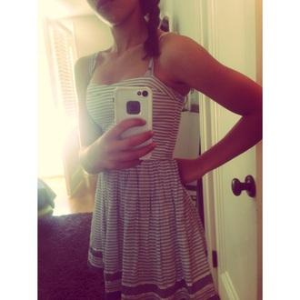 dress striped dress summer dress