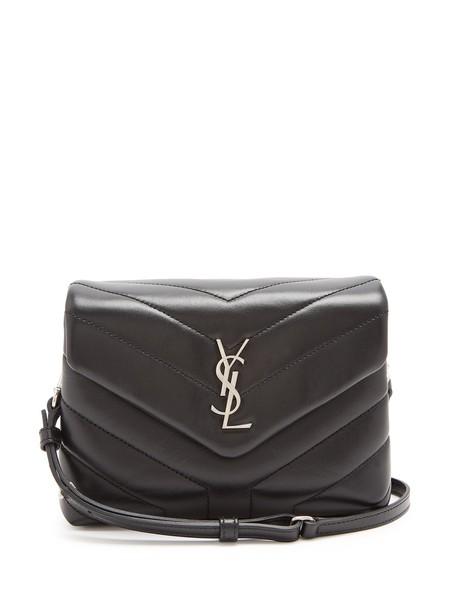 Saint Laurent quilted bag shoulder bag leather black