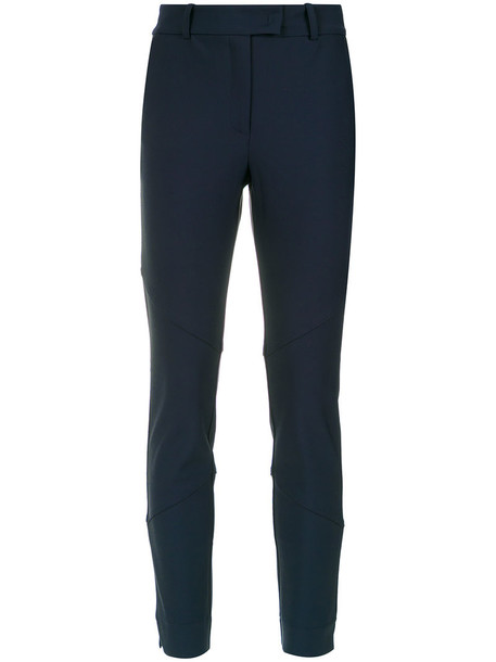 EGREY women spandex blue pants