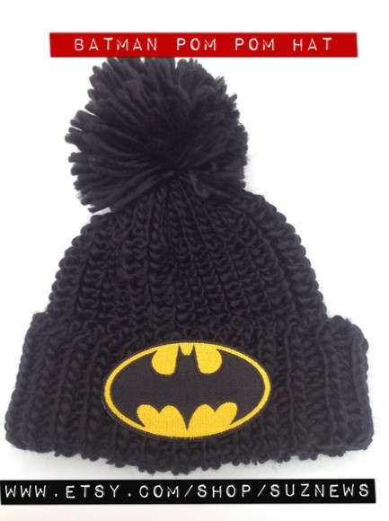 batman hat superhero beanie batman hat girls of gotham hipster style
