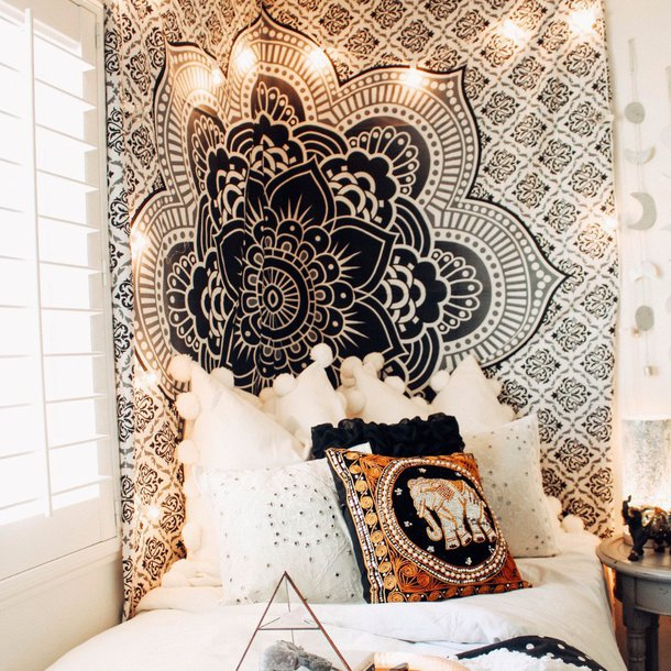 Home Accessory Mandala Tapesty Wall Tapestry Wall Hanging