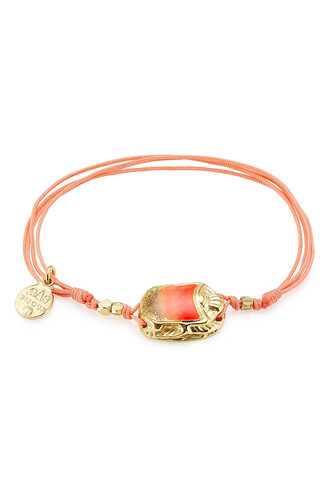 gold orange jewels