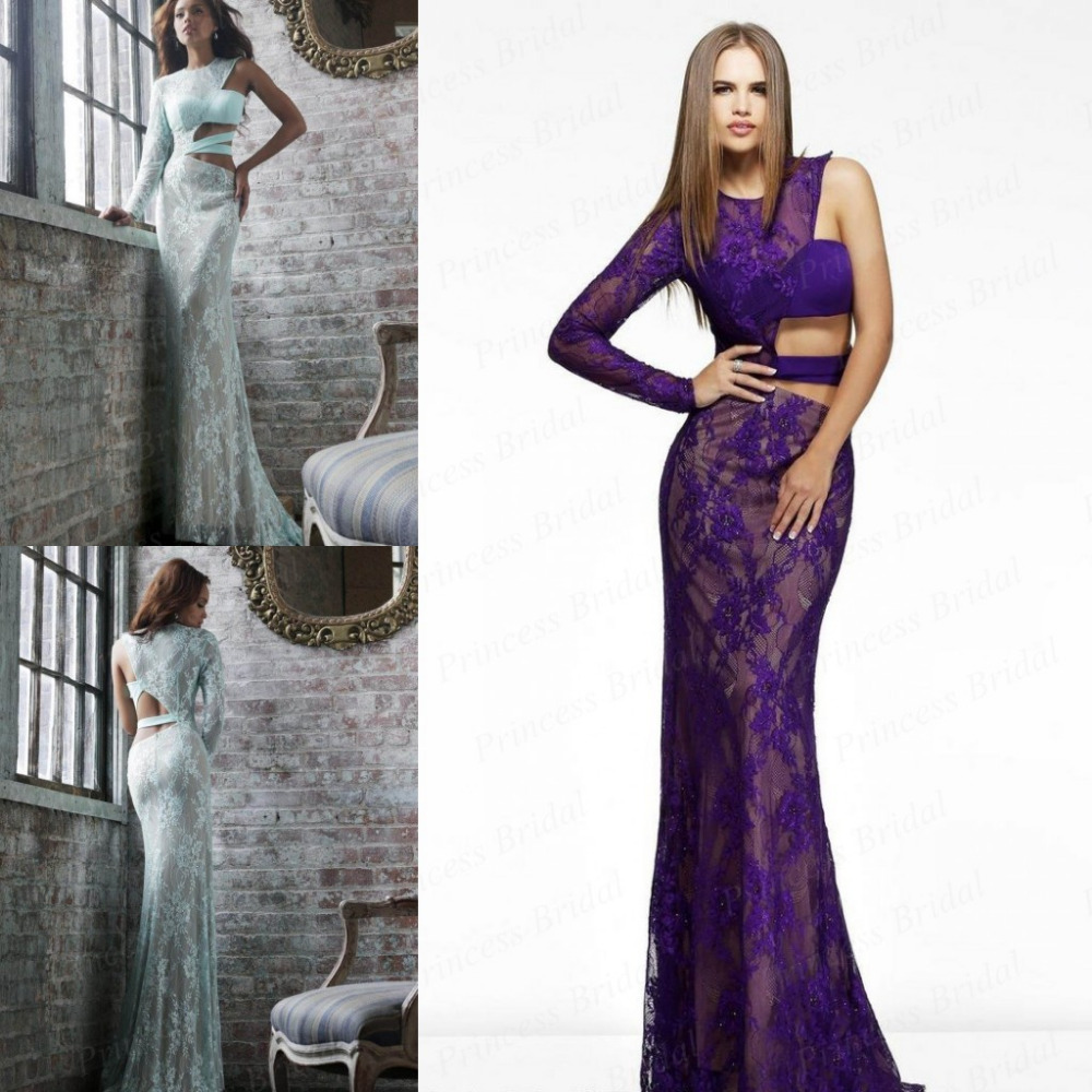 Free Shipping India Style Sexy Fishtail One Long Sleeve Floor Length Long Lace Prom Dresses SH012-in Prom Dresses from Apparel & Accessories on Aliexpress.com | Alibaba Group