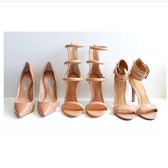 heels nude high heels sandals leather sandals patent shoes