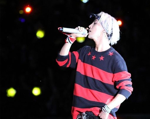 G dragon red red and black horizontal stripe o neck long sleeve sweater sweatshirt-inHoodies & Sweatshirts from Apparel & Accessories on Aliexpress.com