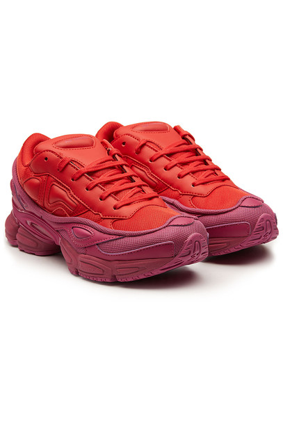 Adidas by Raf Simons RS Ozweego Sneakers  in red