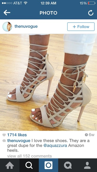 shoes sandals sandal heels heels lace up lace up heels nude high heels nude shoes nude sandals nude heels nude pumps pumps pumps laces heels