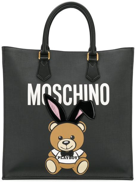 Moschino bear women black bag