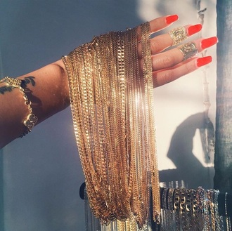jewels jewelry gold gold jewelry dope fashionista cool small gold necklace chain chain necklace