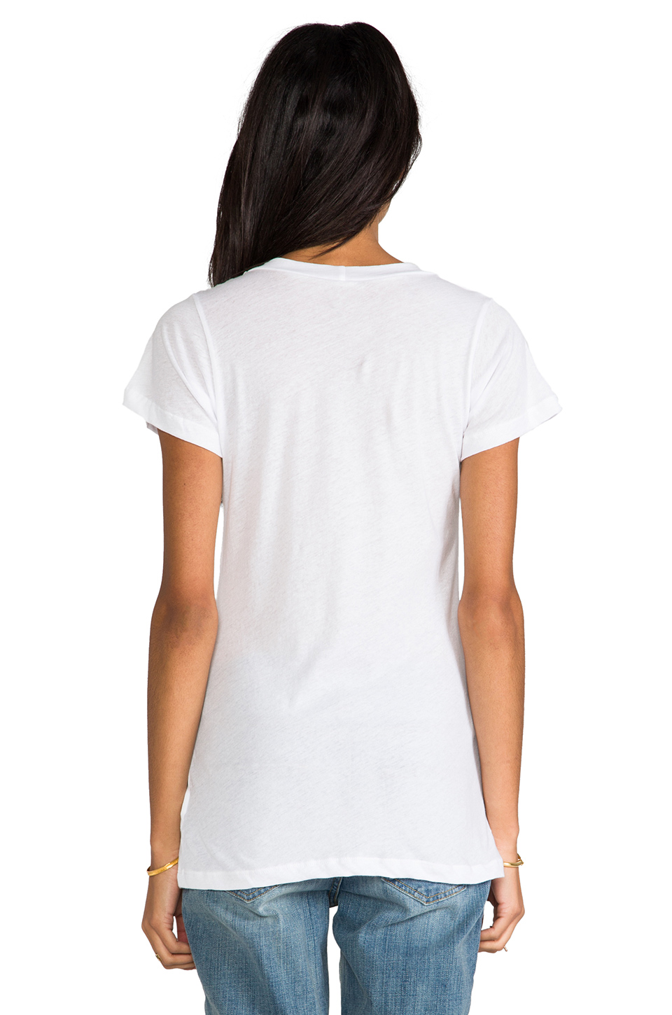 Lna crew neck tee in white from revolveclothing.com