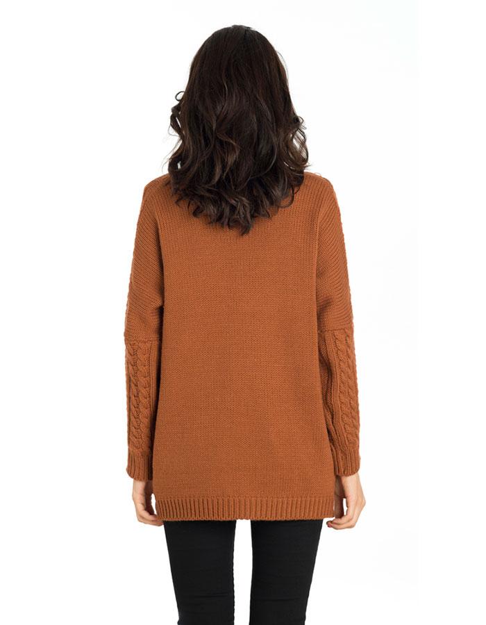 Jersey marrón charlotte de compañia fantástica