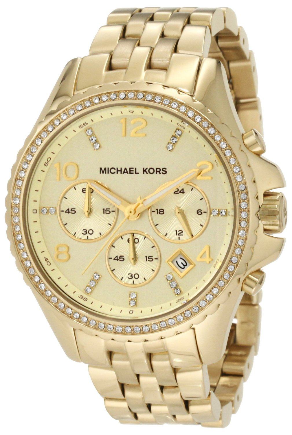 Amazon.com: Michael Kors Women's MK5347 Pilot Gold Watch: Michael Kors: Watches