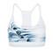 Sage - sports bra - marble white