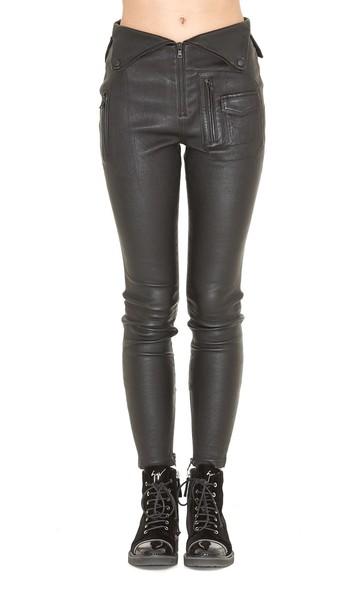rta leather black pants
