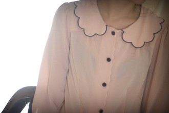 leeloo peter pan collar blouse