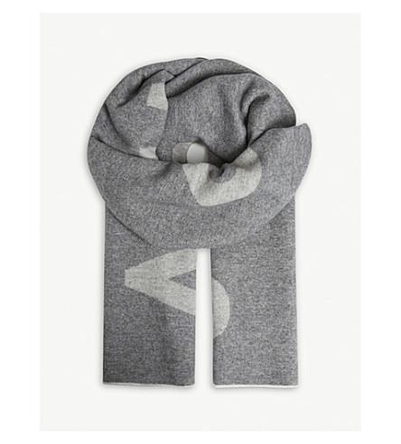 ACNE STUDIOS Toronty wool and nylon-blend scarf