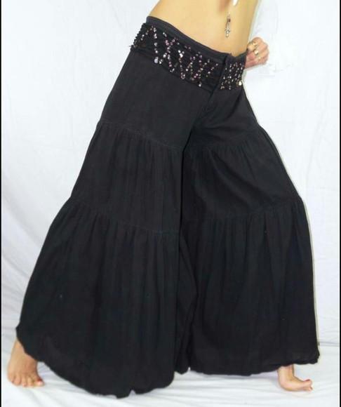 black pants cute pants