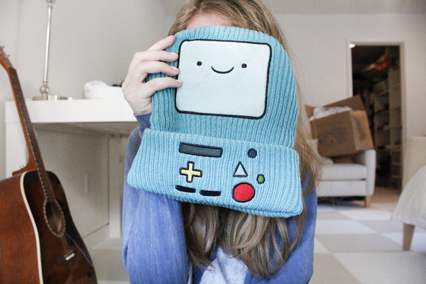 hat beemo adventure time adventure time beanie beanie bmo