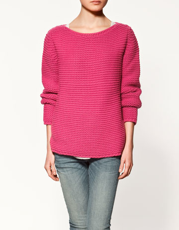 pull col bateau maille collection femme zara france