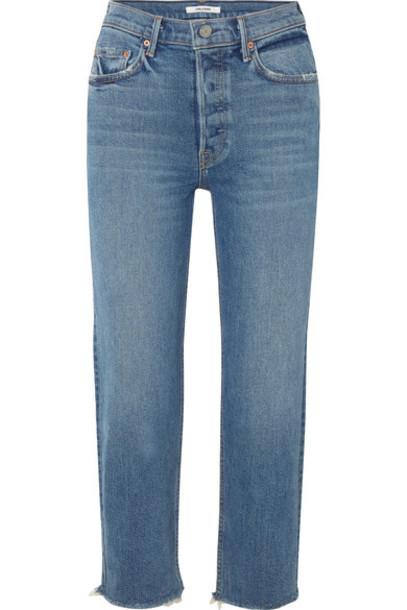 GRLFRND jeans denim cropped