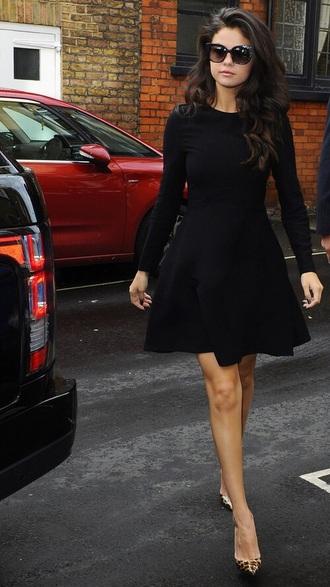 dress selena gomez black