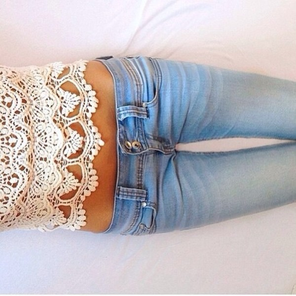 blouse shirt jeans pants hipster flowers white t-shirt top