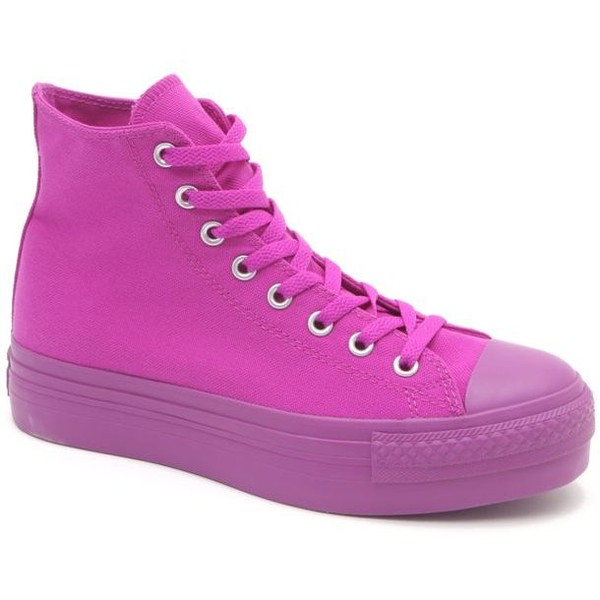 Converse Platform Hi Top Sneakers - Polyvore