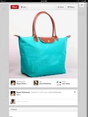 bag,longchamp,cute,lagoon