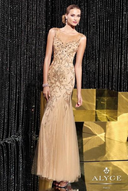 dress nude dress evening dress prom dress