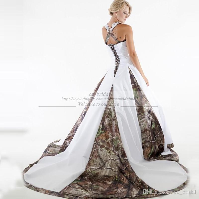 Dresses 2015 Plus Size Camo Wedding Dresses 2015 White And ...