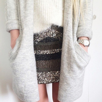 skirt coat cardigan jumper sweater jewels