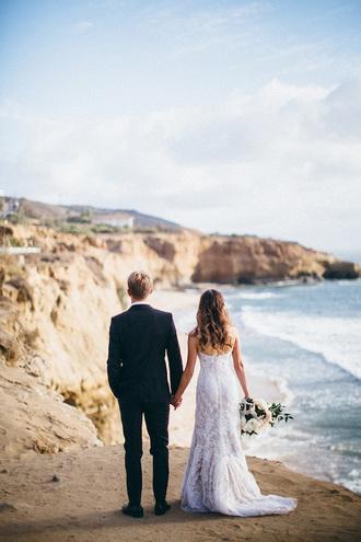 100 layer cake blogger wedding clothes mens suit wedding dress beach wedding jacket dress