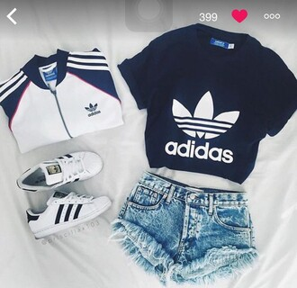 coat adidas shoes adidas originals adidas jacket top black outfit adidas sweater adidas superstars adidas jacket weheartit shorts
