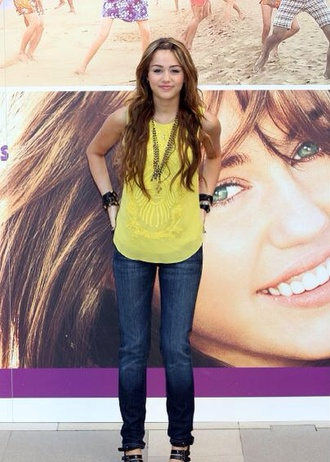 top miley cyrus hannah montana outfit summer dress