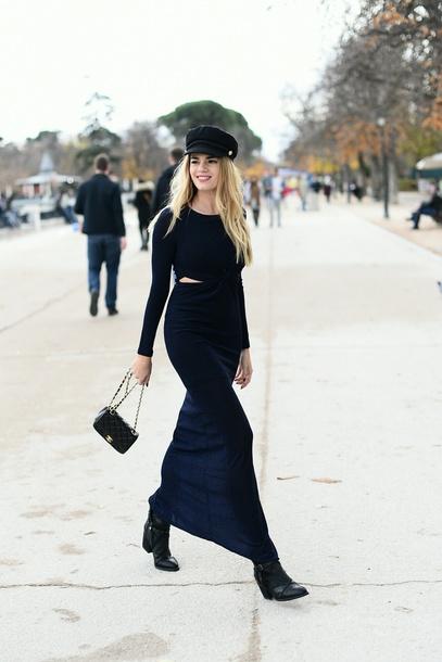 dress, tumblr, maxi dress, black dress, long dress, bodycon