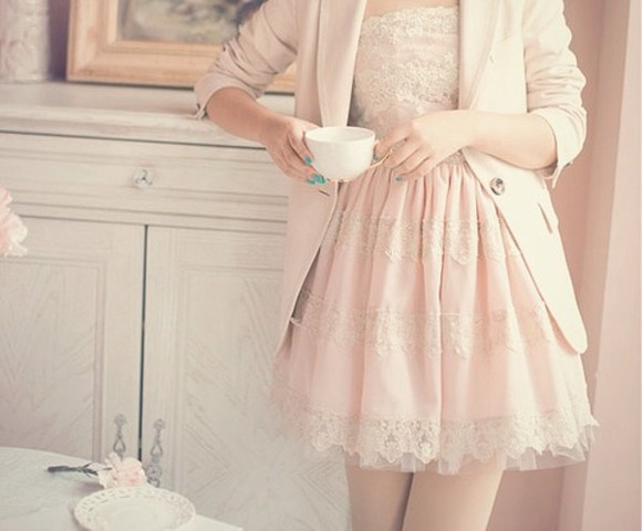 dress mini dress pink jacket coat