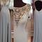 Charming sequins rhinestones round neck long prom dresses, evening dresses - 24prom