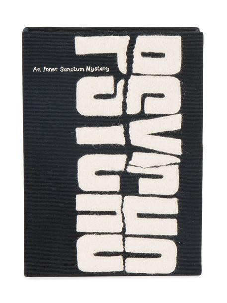 women book clutch cotton black bag