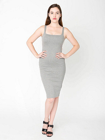 Ponte Tank Dress | American Apparel