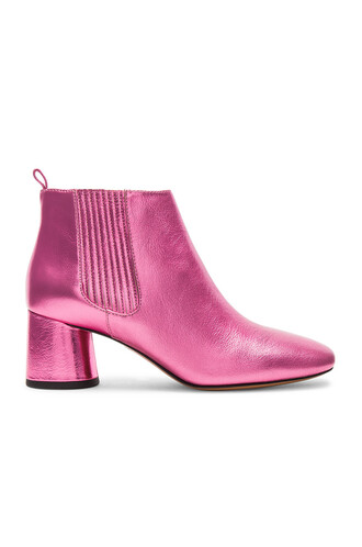 boot pink shoes