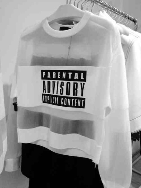 blouse parental advisory explicit content