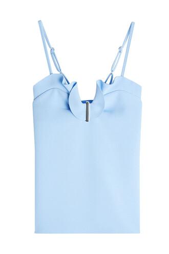 camisole blue underwear