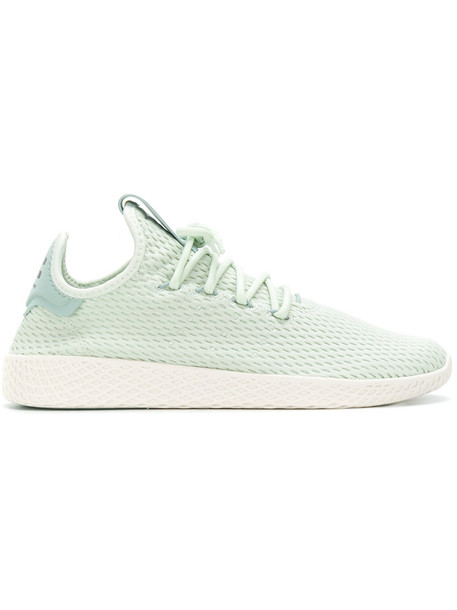 Adidas women sneakers green neoprene shoes