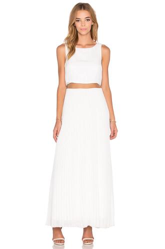dress swing dress white