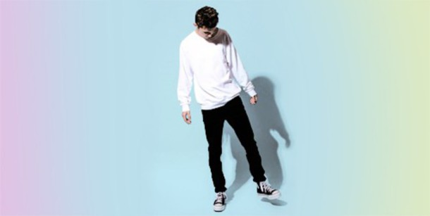 sweater troye sivan youtuber white