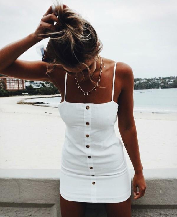 9579770da05 dress chic boho dress white white dress boho chic.