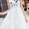 Cat face white dress